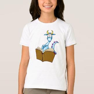 Dragon Reading Book T-Shirt