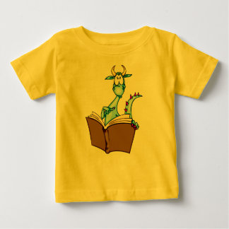 Dragon Reading Book Tee Shirts