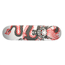 Dragon: Red Dot Skateboard