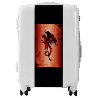 Dragon red luggage
