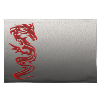 Dragon red placemat