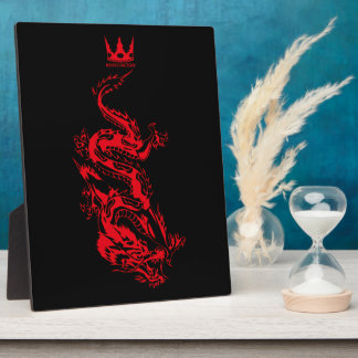 Dragon (red) photo plaques