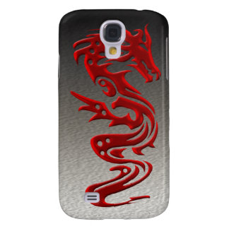 Dragon red samsung galaxy s4 cover