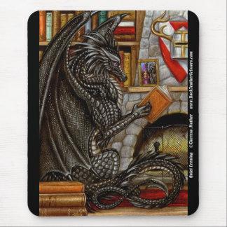 Dragón reservado Mousepad de la lectura de la