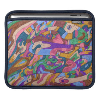 Dragon Ride, Original Abstract Sleeves For iPads