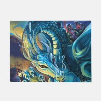 Dragon Rider Fantasy Art Doormat