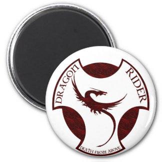 Dragon Rider Fridge Magnets