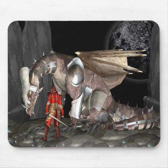 Dragon Rider Mouse Pad