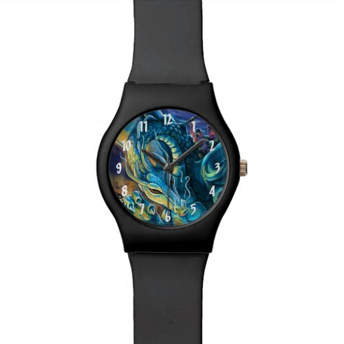 Dragon Rider Numbers Watch