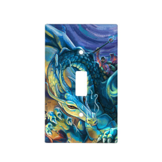 Dragon Rider Poster Light Switch Cover