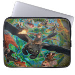 Dragon Riders Group Laptop Computer Sleeve