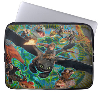 Dragon Riders Group Laptop Sleeve