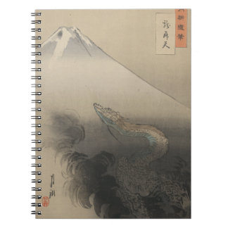 Dragon Rising To The Heavens Notebook