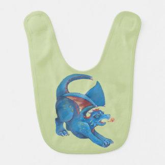 Dragon Roar Baby Bib