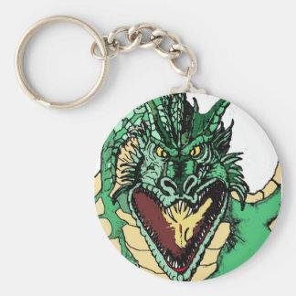dragon roar_edited-1 basic round button keychain