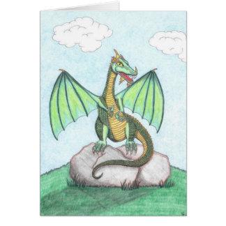 Dragon Rock Card