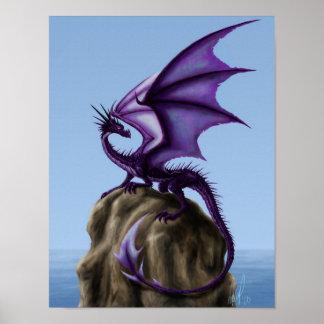 Dragon Rock Poster