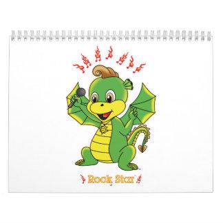 Dragon Rockstar™ Calendar
