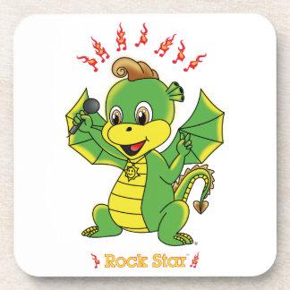 Dragon Rockstar™ Coaster Set