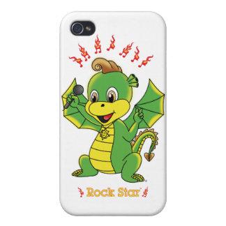 Dragón Rockstar™ iPhone 4 Funda