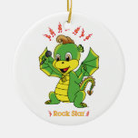 Dragon Rockstar™ Ornament