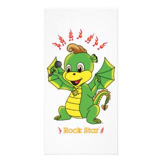 Dragon Rockstar™ Photo Cards