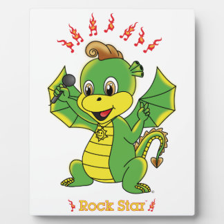 Dragon Rockstar™ Photo Plaques