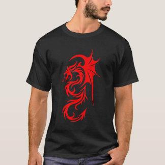 Dragón rojo 4 playera