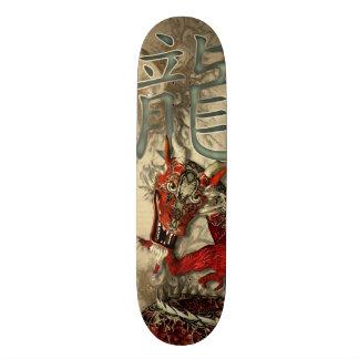 "Dragón rojo chino patineta 8 1/2"""