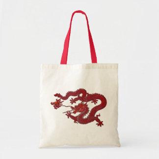 Dragón rojo de la cera bolsa