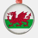 Dragón rojo del ornamento del árbol de navidad de adornos de navidad