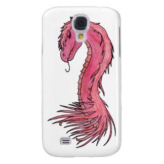 Dragón rojo del pelo