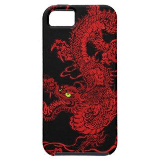 Dragón rojo iPhone 5 Case-Mate fundas