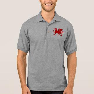 Dragón rojo Galés Polo