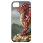 Dragón rojo iPhone 5 carcasas
