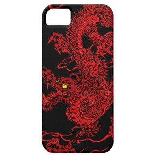Dragón rojo iPhone 5 Case-Mate cárcasas