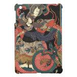 Dragón rojo japonés del vintage iPad mini funda