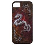 Dragón rojo para Barely There Funda Para iPhone SE/5/5s