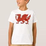 Dragón rojo polera