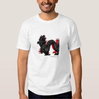 Dragón rojo poleras
