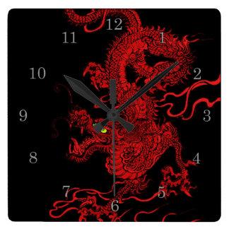 Dragón rojo reloj