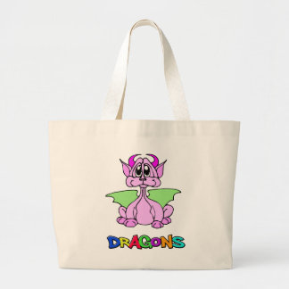 Dragón rosado bolsas