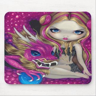 """""""Dragón rosado brillante"""" Mousepad Alfombrillas De Raton"""