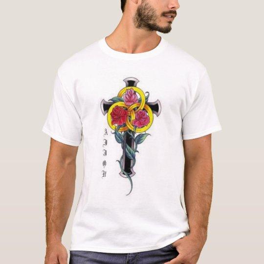 Dragon,Rose T-Shirt