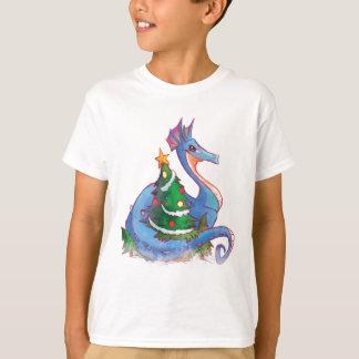 Dragon Round the Christmas Tree T-Shirt