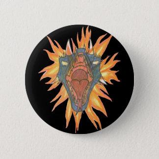 Dragon's Fire Pinback Button