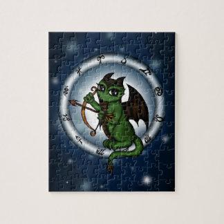 Dragon Sagittarius Zodiac Jigsaw Puzzles