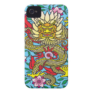 Dragon Sakura iPhone 4 Cover