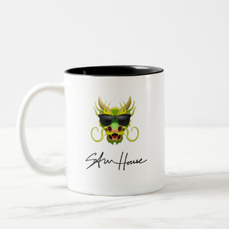 Dragon Sam House Two-Tone Coffee Mug