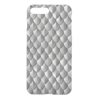 Dragon Scale Armor Silver iPhone 8 Plus/7 Plus Case